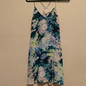 Cynthia rowley 100% silk dress with pockets